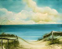 Düne am Meer